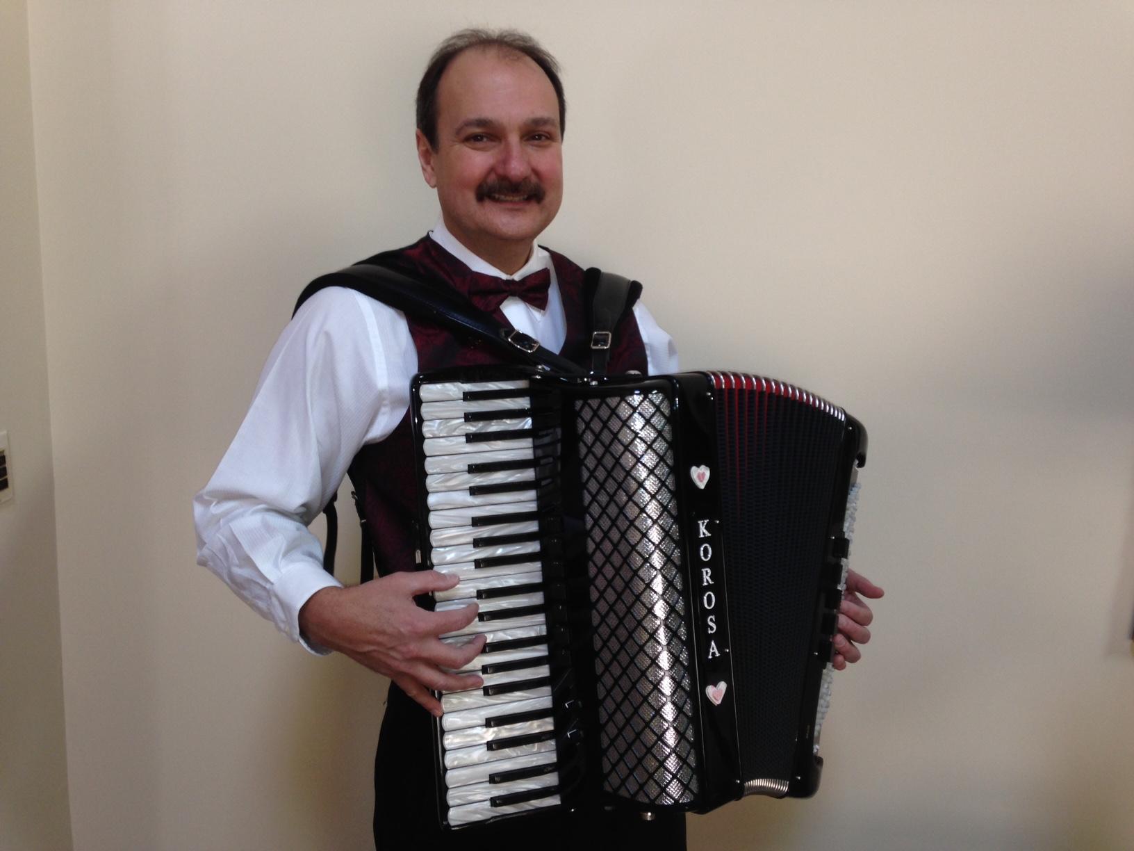Eddie Korosa jr. Chicago polka band